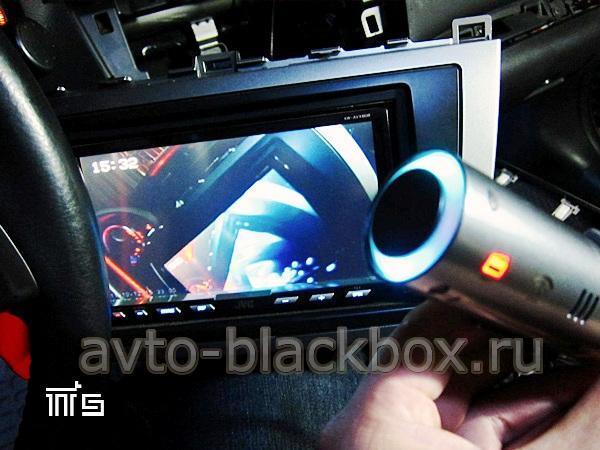 Просмотр видео записанного видеорегистратором BlackVue DR400G HD