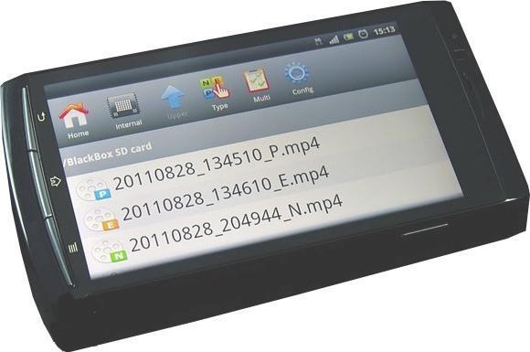 Настройка BlackVue DR400G с помощью смартфона или Айфона