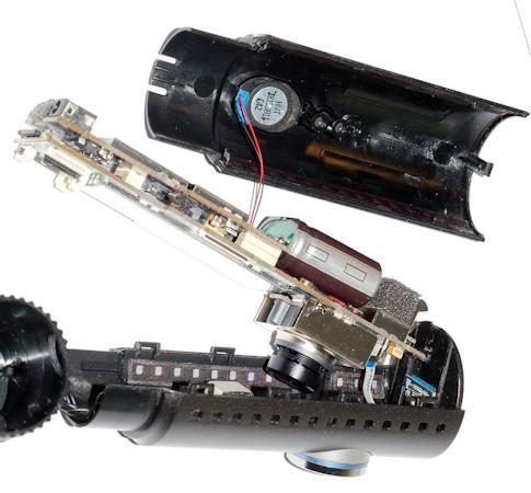BlackVue DR500GW-HD Wi-Fi в разобранном виде