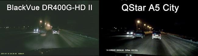 Качество ночной съемки напрямую зависит оптики и чувствительности матрицы