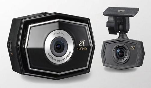 Обзор нового корейского регистратора с двумя камерами FineVu CR-2i FullHD