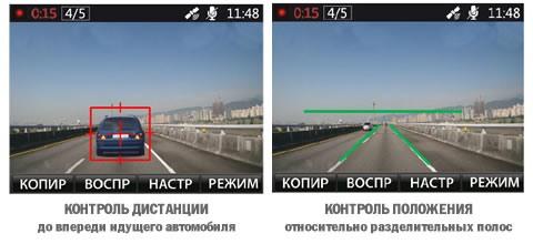 """""""Akenori 1080 X"""" оснащен функциями контроля дистанции и положения автомобиля на многополосной дороге"""