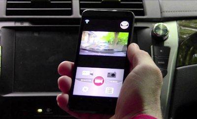 Смартфон может полностью заменить дисплей видеорегистратора