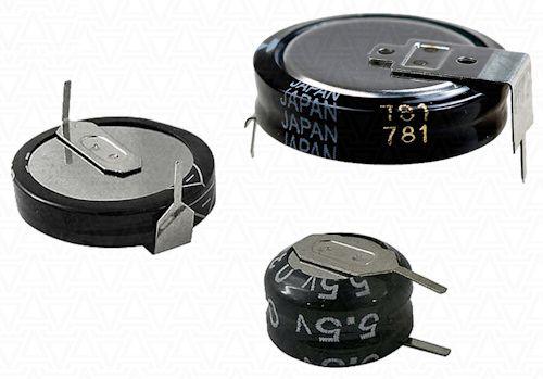 Форм-фактор ионисторов, которые используются в качестве резервных аккумуляторов