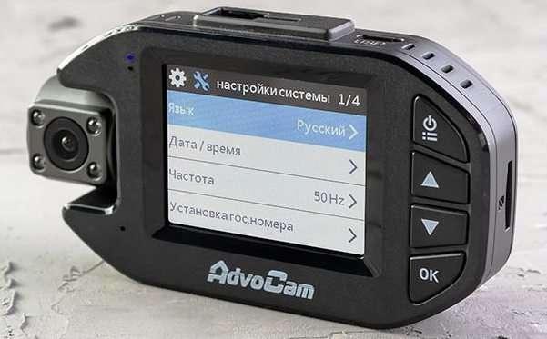 автомобильный регистратор AdvoCam-FD Black DUO (1080p)